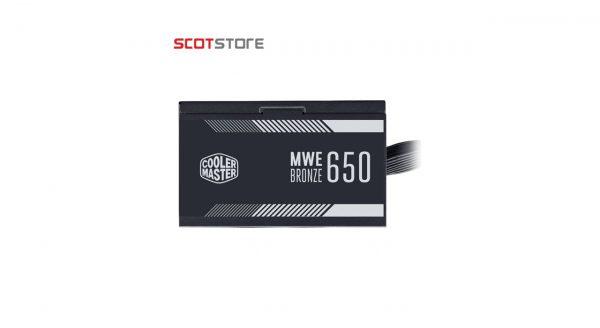 منبع تغذیه کامپیوتر کولر مستر مدل MWE Bronze 650