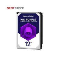 هارددیسک اینترنال وسترن دیجیتال مدل Purple WD121PURZ ظرفیت ۱۲ ترابایت