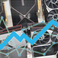افزایش قیمت پردازنده های گرافیکی به لطف ماینر ها